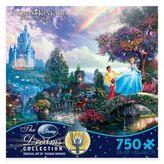 Disney Thomas Kinkade Dreams 750-Piece Cinderella Wishes Upon a Dream Puzzle