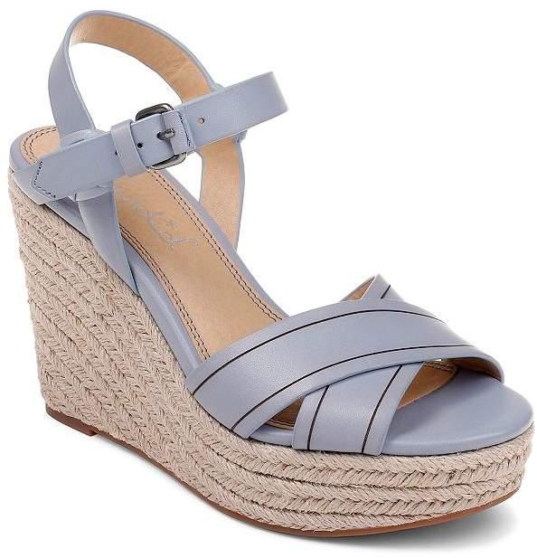 0f63084e9f7 Women's Taffeta Espadrille Wedge Sandals