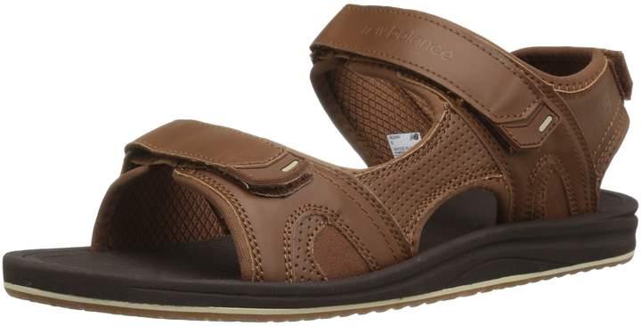 New Balance Men's Recharge Sandal Synthetic/Mesh Liner Size 10 4E