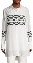 Max Mara Flores Chain Printed Shirt