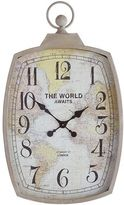 Pier 1 Imports The World Awaits Wall Clock