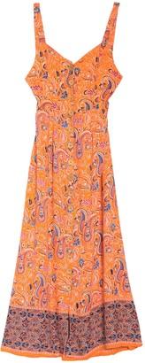 Angie Back Tie Maxi Tank Dress