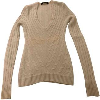 Ralph Lauren White Cashmere Knitwear