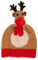 Collection 18 Knit Reindeer Hat