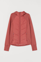 H&M Padded Hooded Outdoor Jacket - Red