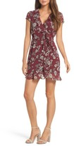 Bardot Women's Floral Flip Faux Wrap Dress