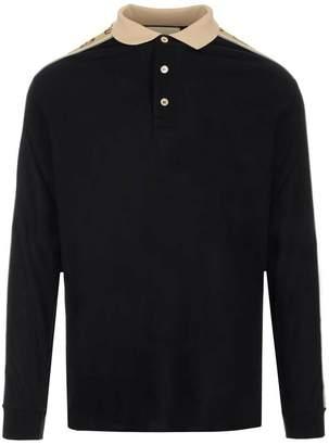 Gucci Long Sleeve Polo Shirt