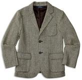 Ralph Lauren Boys' Wool Blend Herringbone Tweed Sport Coat - Sizes S-XL