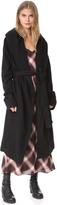 Rick Owens Fleece Robe
