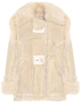 Acne Studios Oversized shearling jacket