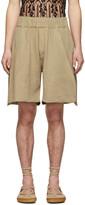 BEIGE Palomo Spain Linen Shorts