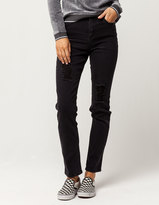 Almost Famous Premium Womens Mom Jeans