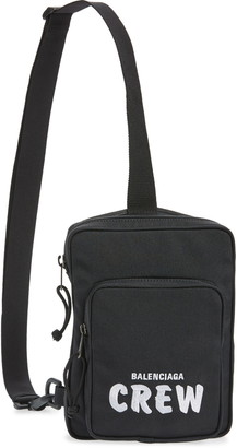 Balenciaga Crew Explorer Crossbody Messenger Bag