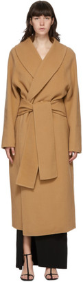 GAUGE81 Tan Wool Bodo Belted Coat