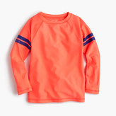 J.Crew Boys' rash guard in double stripe