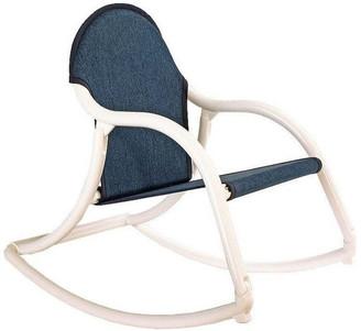 Hoohobbers Children's Denim Rocking Chair