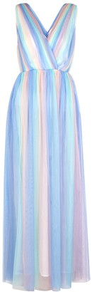 Olivia Rubin Adelina Multicoloured Tulle Maxi Dress