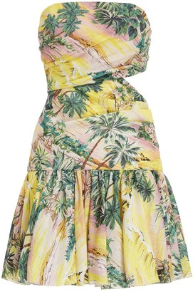 Zimmermann Juliette Cut Out Flip Dress