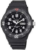 Casio Mens Black Resin Strap Diver Sport Watch MRW200H-1BV