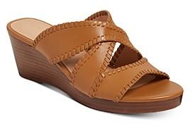 Jack Rogers Women's Jackie Mid-Heel Wedge Sandals