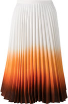 J.W.Anderson ombré pleated skirt - women - Viscose - 6