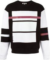 McQ by Alexander McQueen Red Line print sweatshirt - men - Cotton - S