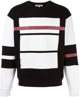 McQ Red Line print sweatshirt