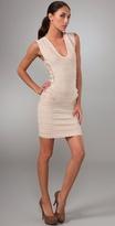 Velvet Geometric Dress