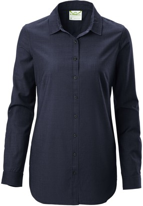 Kathmandu Tomar Womens Merino Long Sleeve Shirt