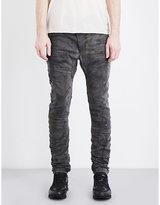 Boris Bidjan Saberi Distressed Slim-fit Skinny Jeans