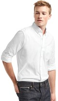 Gap Oxford solid slim fit shirt