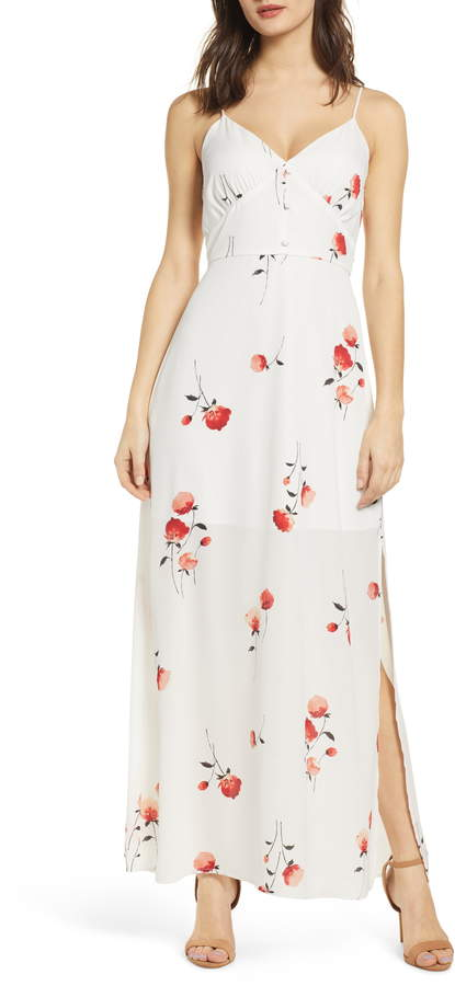 Rowa Row A Strappy Maxi Dress