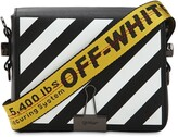 Off-White Off White Diag Printed Leather Shoulder Bag