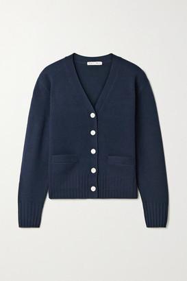 Alex Mill Bleeker Merino Wool Cardigan - Midnight blue