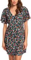 Roxy Women's Casual Dresses Anthracite - Anthracite Bouquet Damage Love Dress - Women