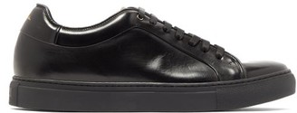 Paul Smith Basso Leather Trainers - Mens - Black