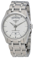 Tissot Couturier Automatic Silver Dial Watch, 39mm