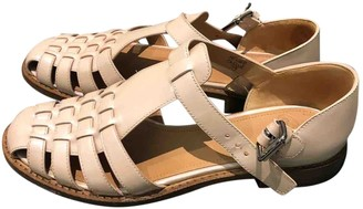 Church's Pink Patent leather Sandals
