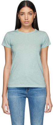 Rag & Bone Blue Pima Cotton The Tee T-Shirt