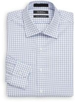 Saks Fifth Avenue Slim-Fit Checkered Dress Shirt