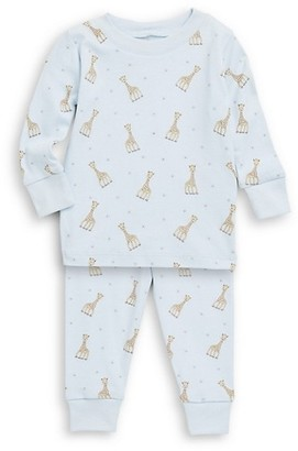 Kissy Kissy Baby Boy's & Little Boy's Sophie La Girafe Printed Cotton Pajama Set
