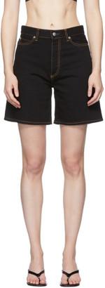 Simon Miller Black Lyra Shorts