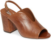 Sbicca Women's Sandals BROWN - Brown Wolcott Leather Sling-Back - Women