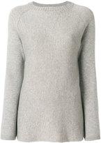 Allude square neck sweater