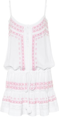 Melissa Odabash Karen embroidered minidress