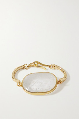 Tohum Lumia Gold-plated And Crystal Bracelet - one size