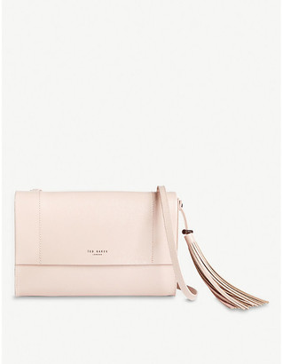 Ted Baker Lailai patent-leather cross-body bag