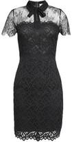 Sandro Rozen Embroidered Lace Mini Dress