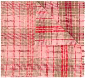 Acne Studios Cassiar Check oversized scarf