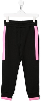 Stella McCartney contrast stripe track pants